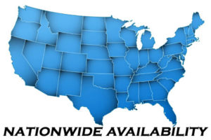 Map of USA shows our availability for Security Consulting and Expert Witness Services